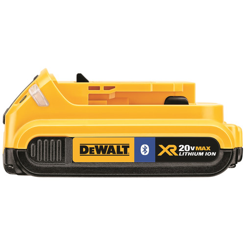 Dewalt DCB203BT 20V MAX 2.0 Ah Lithium-Ion Bluetooth Compact Battery Pack