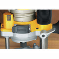 Dewalt DW618PK 2-1/4 HP EVS Fixed Base & Plunge Router Combo Kit with Hard Case image number 6