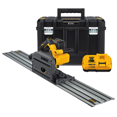 Dewalt DCS520ST1 FLEXVOLT 60V MAX 6-1/2 in. (165mm) Cordless Track Saw Kit with 59 in. Track