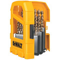 Dewalt DW1969 29-Piece Pilot Point and Drill Bit Set image number 1