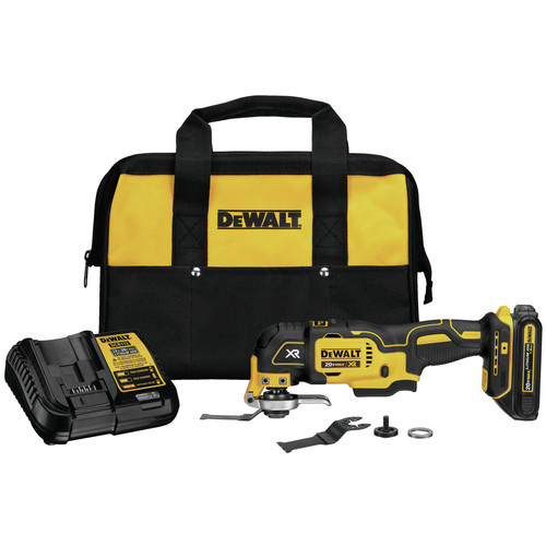 Factory Reconditioned Dewalt DCS355C1R 20V MAX XR Brushless Lithium-Ion Oscillating Tool Kit (1.5 Ah) image number 0