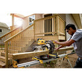 Dewalt DHS790AT2 MAX FlexVolt Cordless Lithium-Ion 12 in. Dual Bevel Sliding Compound Miter Saw Kit with Batteries and Adapter image number 3