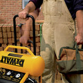 Dewalt D55146 1.6 HP 4.5 Gallon Oil-Free Wheeled Portable Air Compressor image number 11