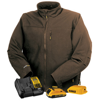 Dewalt DCHJ060ATD1-XL 20V MAX Li-Ion Soft Shell Heated Jacket Kit - XL