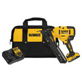 Dewalt DCN650D1 20V MAX XR 15 Gauge Cordless Angled Finish Nailer image number 0