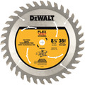 Dewalt DWAFV3836 8-1/4 in. 36T Table Saw Blade image number 0