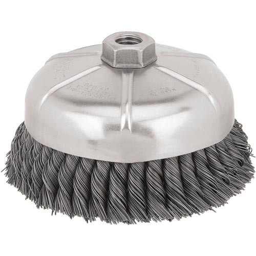 Dewalt DW4917 6 in. x 0.020 in. Carbon Steel Cup Brush