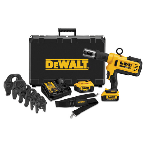 Dewalt DCE200M2K 20V MAX Cordless Lithium-Ion Press Tool Kit with Crimping Head Set