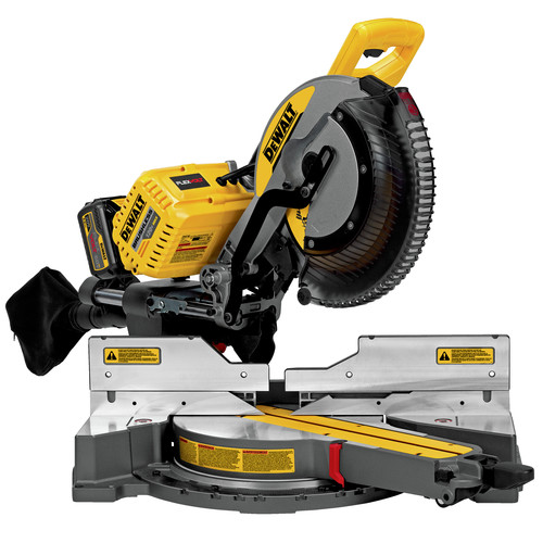 Factory Reconditioned Dewalt DHS790AT2R MAX FlexVolt Cordless Lithium-Ion 12 in. Dual Bevel Sliding Compound Miter Saw Kit with Batteries and Adapter image number 1