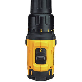 Dewalt DCD780C2 20V MAX Lithium-Ion Compact 1/2 in. Cordless Drill Driver Kit (1.5 Ah) image number 8