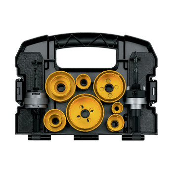 Dewalt D180005 13-Piece Master Hole Saw Kit image number 1