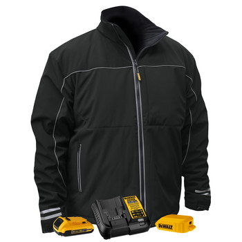 Dewalt DCHJ072D1-VR 20V MAX Li-Ion G2 Soft Shell Heated Work Jacket Kit