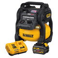 Dewalt DCC2560T1 60V MAX FLEXVOLT 2.5 Gallon Oil-Free Pancake Air Compressor Kit image number 1