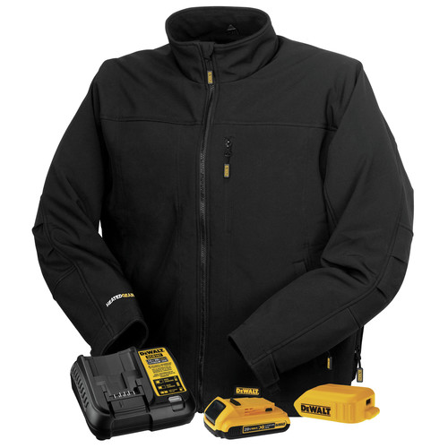 Dewalt DCHJ060ABD1-M 20V MAX Li-Ion Soft Shell Heated Jacket Kit - Medium image number 0