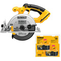 Dewalt DC390-2 18V XRP Cordless 6-1/2 in. Circular Saw with 2 Batteries image number 0