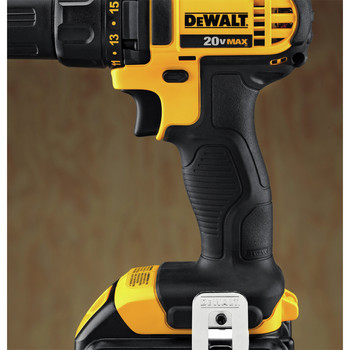 Dewalt DCD780C2 20V MAX Lithium-Ion Compact 1/2 in. Cordless Drill Driver Kit (1.5 Ah) image number 7