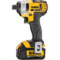 Factory Reconditioned Dewalt DCK290L2R 20V MAX 3.0Ah Cordless Lithium-Ion 1/2 in. Hammer Drill and Impact Driver Combo Kit image number 2