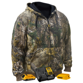 Dewalt DCHJ074D1-S 20V MAX Li-Ion Heated Hoodie Kit - Small