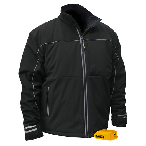 Dewalt DCHJ072B-3X 20V MAX Li-Ion G2 Soft Shell Heated Work Jacket (Jacket Only) - 3XL image number 0