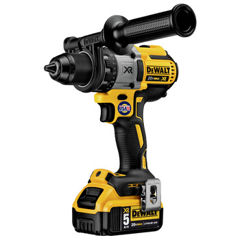 Dewalt DCD991P2 20V MAX XR Lithium-Ion Brushless 3-Speed 1/2 in. Cordless Drill Driver Kit (5 Ah) image number 4