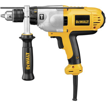 Dewalt DWD525K 10 Amp Variable Speed 1/2 in. Corded Hammer Drill Kit with Mid-Handle image number 1