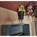 Dewalt DCD708C2-DCS354B-BNDL ATOMIC 20V MAX Compact 1/2 in. Cordless Drill Driver Kit and Oscillating Multi-Tool image number 13