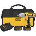 Dewalt DCF889HM2 20V MAX XR Cordless Lithium-Ion 1/2 in. High-Torque Impact Wrench Kit with Hog Ring Anvil image number 0