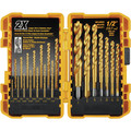 Dewalt DW1361 21 Pc Titanium Pilot Point Drill Bit Set image number 0