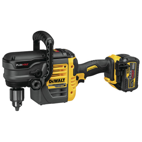 Dewalt DCD460T1 FlexVolt 60V MAX Lithium-Ion Variable Speed 1/2 in. Cordless Stud and Joist Drill Kit with (1) 6 Ah Battery image number 3