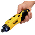 Dewalt DCF680N2 8V MAX Cordless Lithium-Ion Gyroscopic Screwdriver Kit with 2 Compact Batteries image number 10