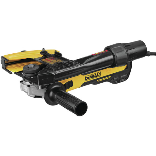 Dewalt DWE46202 5 in. / 6 in. Brushless Slide Switch Small Angle Grinder with Tuckpointing Shroud