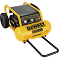 Dewalt D55146 1.6 HP 4.5 Gallon Oil-Free Wheeled Portable Air Compressor image number 1