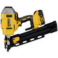 Factory Reconditioned Dewalt DCN21PLM1R 20V MAX Lithium-Ion 21-Degree Plastic Collated Framing Nailer Kit (4 Ah) image number 2