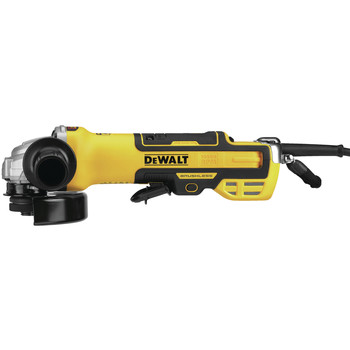Dewalt DWE43214NVS 5 in. Brushless No-Lock Variable Speed Paddle Switch Small Angle Grinder with Kickback Brake image number 1