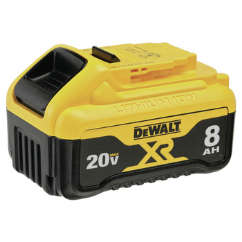 Dewalt DCB208 (1) 20V MAX XR 8 Ah Lithium-Ion Battery