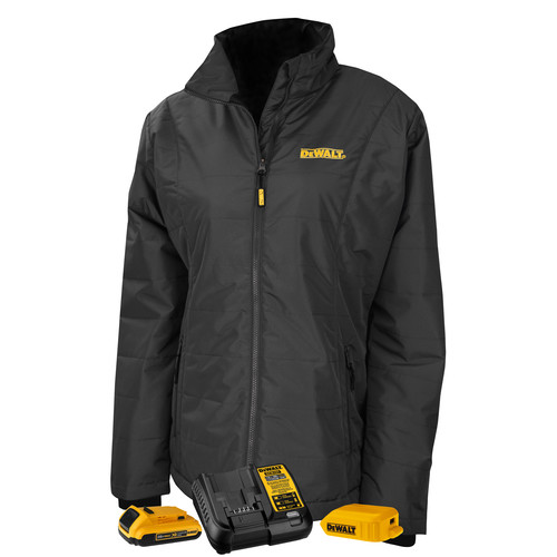 Dewalt DCHJ077D1-XS 20V MAX Li-Ion Women's Quilted Heated Jacket Kit - XS image number 0