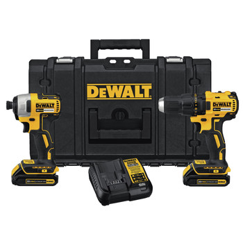 Factory Reconditioned Dewalt DCKTS277C2R 20V MAX Drill/Impact Tool with ToughSystem Kit Box