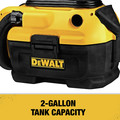 Dewalt DCV581H 20V MAX Cordless/Corded Lithium-Ion Wet/Dry Vacuum (Tool Only) image number 10