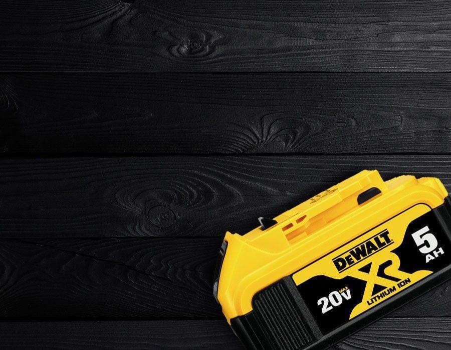 FREE DEWALT 20V MAX 5 Ah Battery