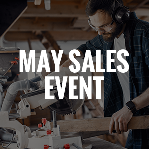 May Sales Event - Save up to $100 off!