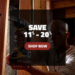 Save 11 - 20%