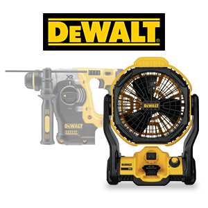 FREE DeWALT 20V MAX Tool or Battery