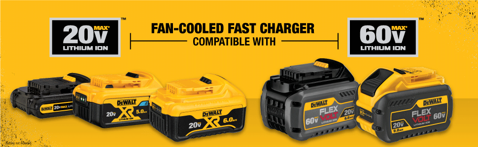 Fan-Cooled Fast Charger