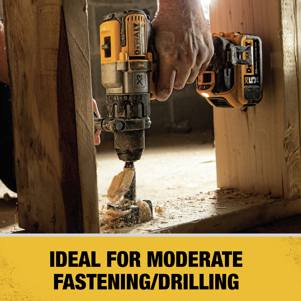 Ideal for Moderate Fastening/Drilling