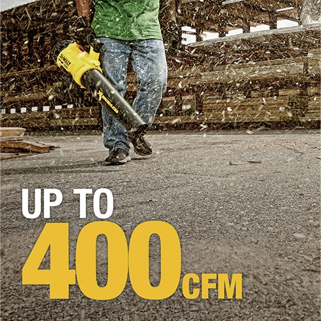 Up to 400 CFM
