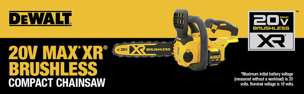 20V MAX XR Brushless Compact Chainsaw
