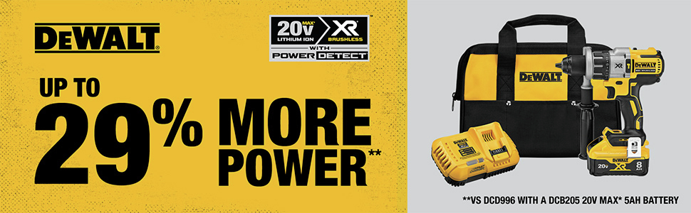 Up to 29% More Power