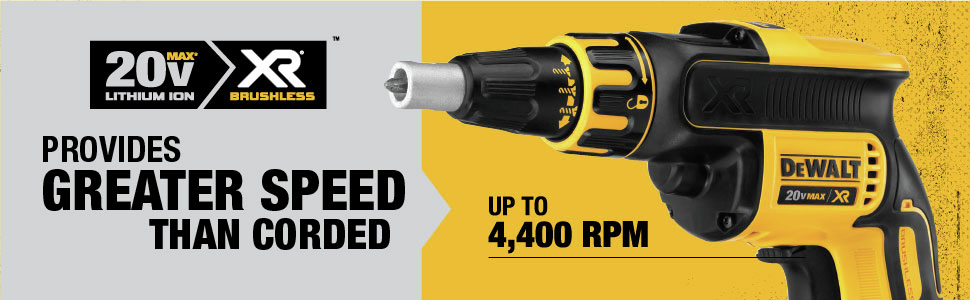 Provides Greater Speed Than Corded