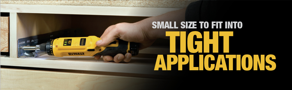 Small Size to Fit into Tight Applications