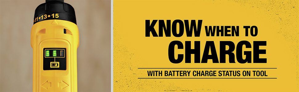 Know When to Charge